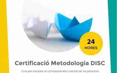 Certificació en metodologia DISC – Inici: 11/07/2019