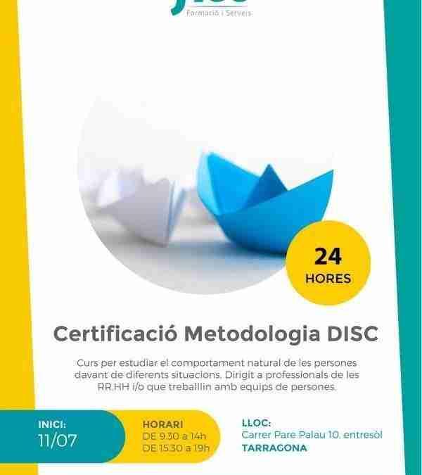 Certificació en metodologia DISC