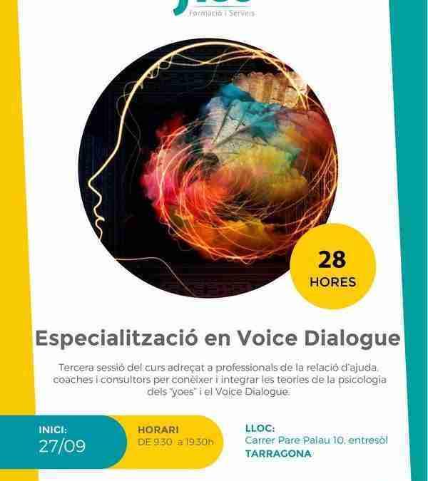 A punt la tercera fase del curs de «Voice Dialogue»