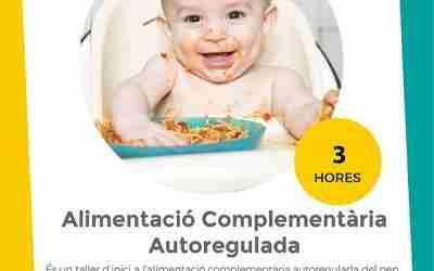 Alimentación Complementaria Autoregulada – Inicio: 29/11/2019