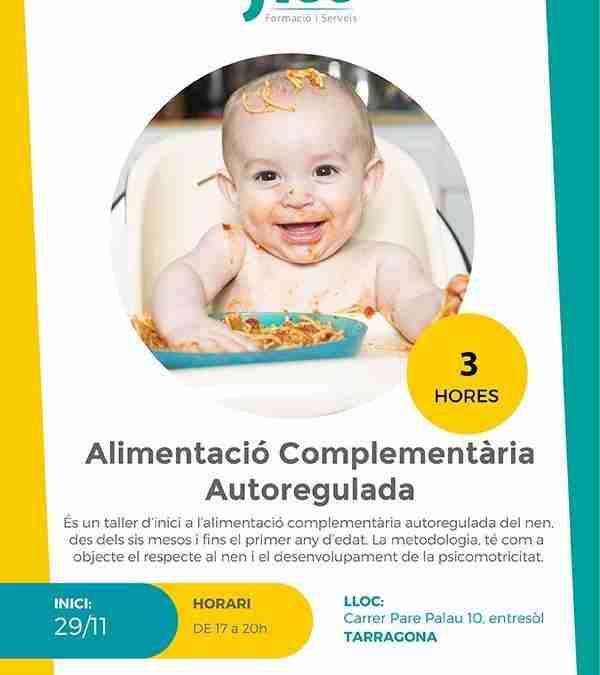 Alimentació Complementària Autoregulada – Inici: 29/11/2019
