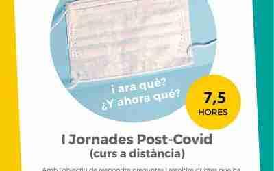 Primeres Jornades Post-Covid