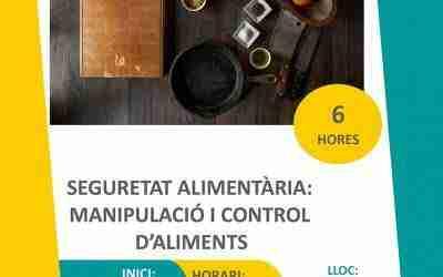 Curs de seguretat alimentària i manipulació d'aliments