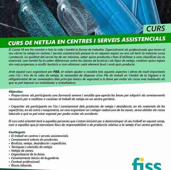 Curs de neteja en centres i serveis assistencials
