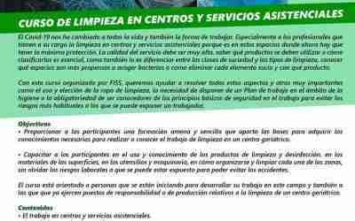 Curso de limpieza en centros y servicios asistenciales