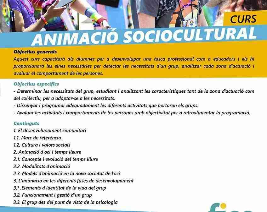 Curs d'animacio sociocultural