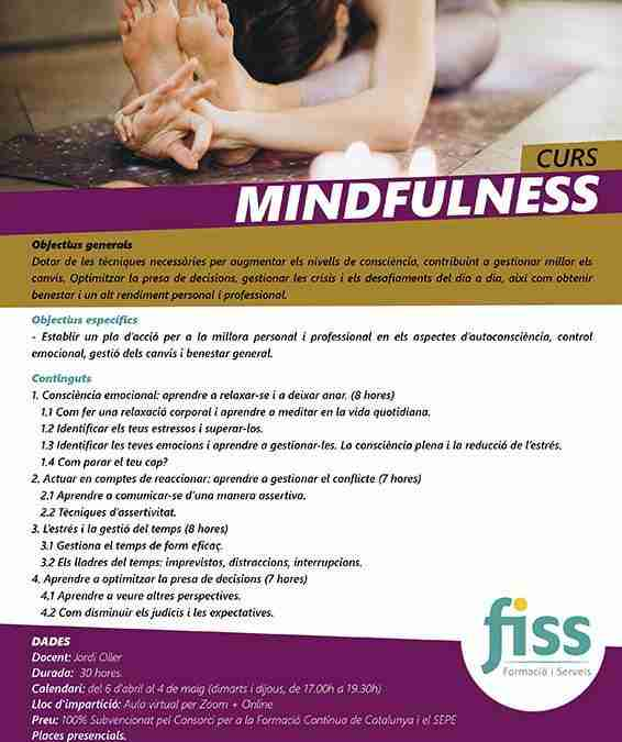 Curs de Mindfulness