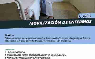 Curso de movilización de enfermos